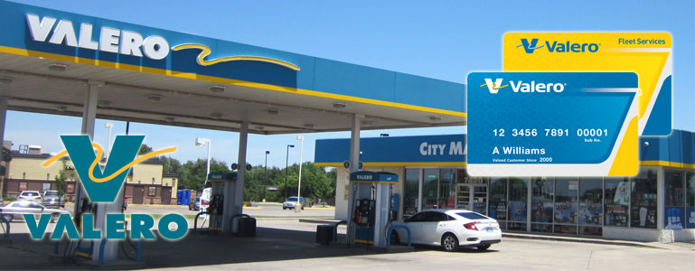 Bill Pay for Valero Gas Stations